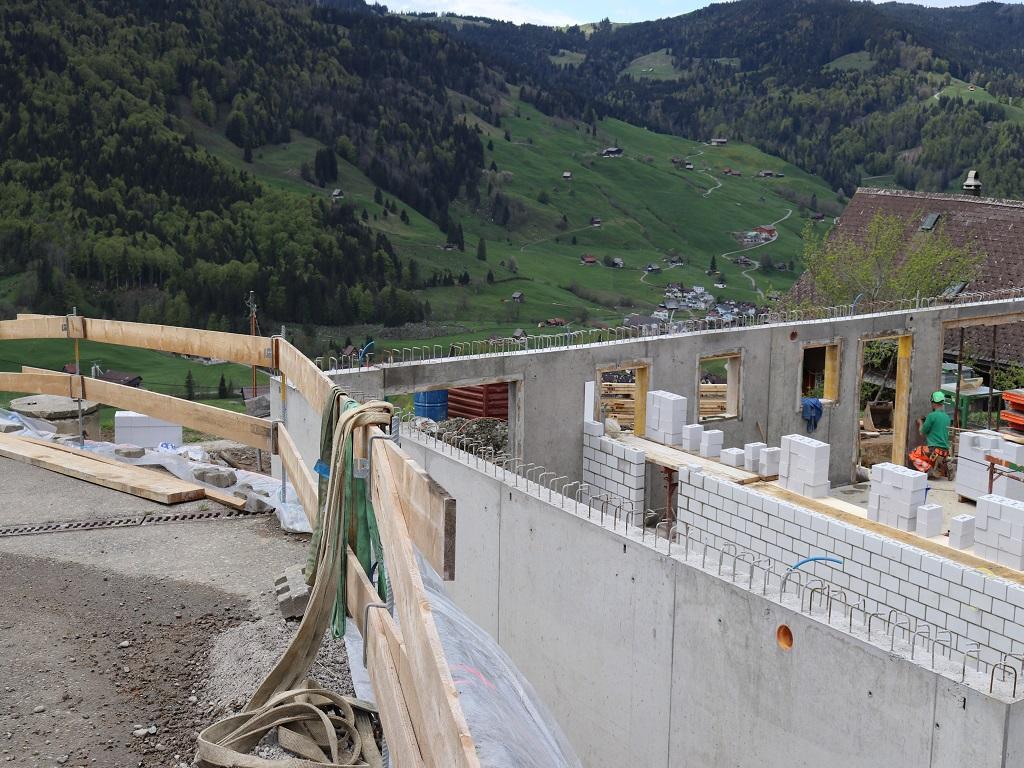 Neubau Betriebsleiter-Wohnhaus, Vorderthal (9)