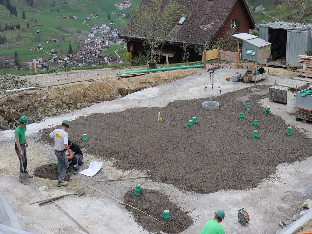 Neubau Betriebsleiter-Wohnhaus, Vorderthal (1)