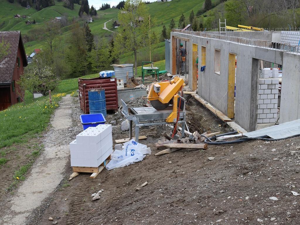 Neubau Betriebsleiter-Wohnhaus, Vorderthal (10)