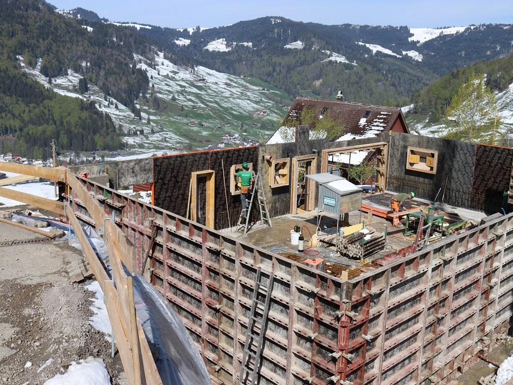 Neubau Betriebsleiter-Wohnhaus, Vorderthal (4)