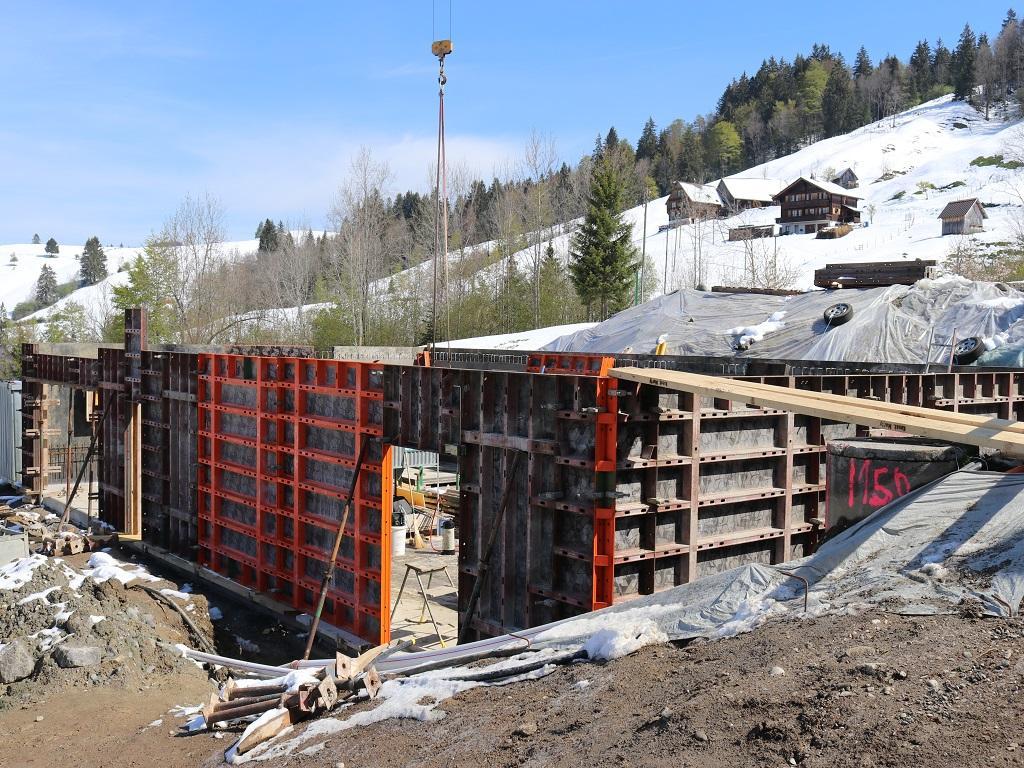 Neubau Betriebsleiter-Wohnhaus, Vorderthal (5)