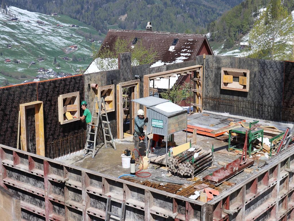 Neubau Betriebsleiter-Wohnhaus, Vorderthal (6)